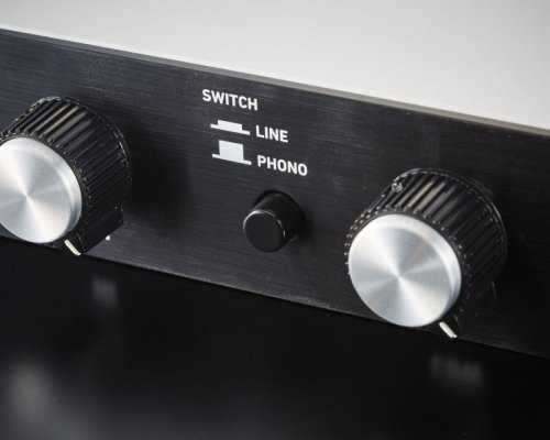 Other Images1: ARS MODEL 3600 with PHONO Pre Amps and LINE Model Silver face