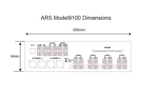 Other Images3: ARS MODEL 9100 MUSIC MIXER Reservations are accepted