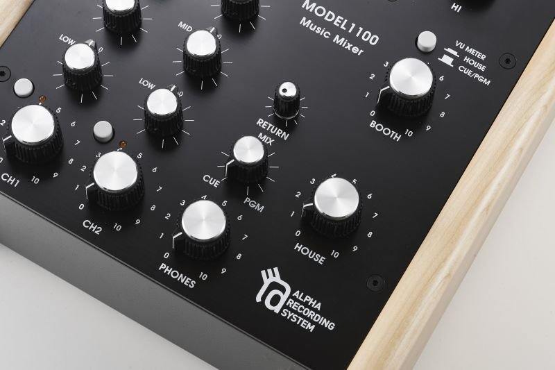 Photo5: ARS MODEL 1100Wood  MUSIC MIXER limited edition